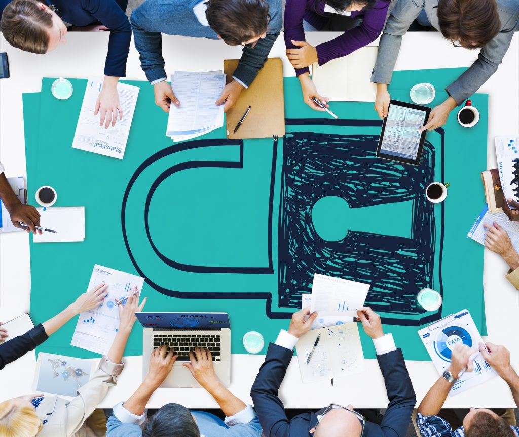Datensicherheit und Datenschutz spielen eine zentrale Rolle der neuen DSGVO